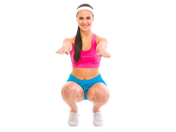 Squats Jumps (jongkok bangun)