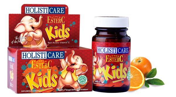 Vitamin C Anak yang Halal