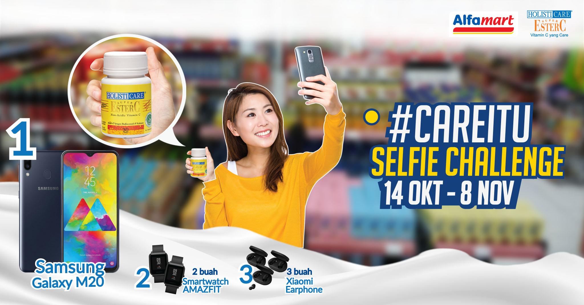 careitu selfie challenge