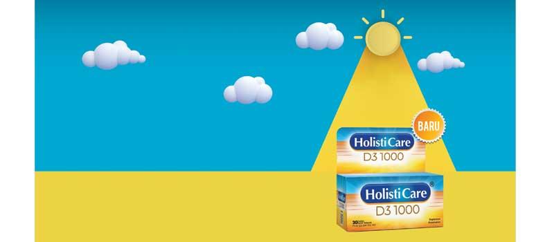 Launching Holisticare D3 1000